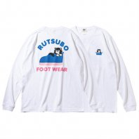 <font size=5>RUTSUBO 坩堝</font><br>HANS LS T-SHIRTS  RUTSUBO×FACE×DFW<br> WHITE<br><img class='new_mark_img2' src='https://img.shop-pro.jp/img/new/icons1.gif' style='border:none;display:inline;margin:0px;padding:0px;width:auto;' />