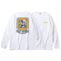 <font size=5>RUTSUBO 坩堝</font><br>HAWK LS T-SHIRTS(RUTSUBO×ALLRAID)<br>WHITE<br><img class='new_mark_img2' src='https://img.shop-pro.jp/img/new/icons1.gif' style='border:none;display:inline;margin:0px;padding:0px;width:auto;' />