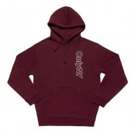 <font size=5>ONLY NY</font><br>Outline Logo Hoodie<br>Burgundy<br>