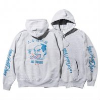 <font size=5>RUTSUBO 坩堝</font><br>BIG TONGUE AIR PULLOVER PARKA   RUTSUBO×YUSUDA<br>GREY<br>