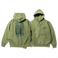 <font size=5>RUTSUBO 坩堝</font><br>YES I SAW HIM HERE PULLOVER PARKA<br>Olive<br>