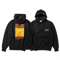 <font size=5>RUTSUBO 坩堝</font><br>YES I SAW HIM HERE PULLOVER PARKA<br>Black<br>