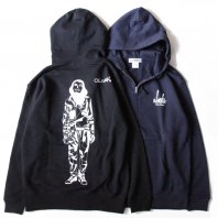 <font size=5>OIL WORKS</font><br>OILWORKS ZIP HOOD<br>2color<br>
