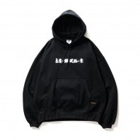 <font size=5>TBPR</font><br>SILVER & GOLD HOODIE (TIGHTBOOTH / THA BLUE HERB)<br>BLACK<br>