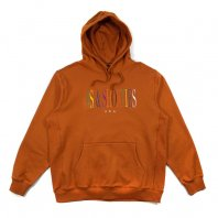 <font size=5>40's&Shorties</font><br>Unity Text Logo Hoodie<br>Tobacco Brown<br>