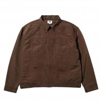 <font size=5>RUTSUBO 坩堝</font><br>City Boy Trucker LS SHIRTS<br> Brown<br>