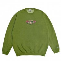 <font size=5>SAYHELLO</font><br>Hard Rock Pigment Dyed Sweat<br>Dark Green<br>