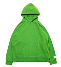 <font size=5>APPLEBUM</font><br>VARIEGATOR Sweat Parka<br>Clear Green<br>