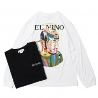 <font size=5>OIL WORKS</font><br>EL NINO MIX TAPE LONG T-SHIRTS<br>2 Color<br>