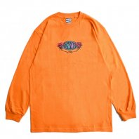<font size=5>SAYHELLO</font><br>Hard Rock L/S Tee<br>Orange<br>