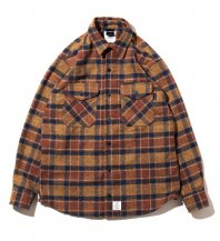 <font size=5>APPLEBUM</font><br>Cotton Tweed Check New Shirt<br>Brown<br>