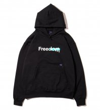 <font size=5>APPLEBUM</font><br>FREEDOM Sweat Parka<br>Black<br>