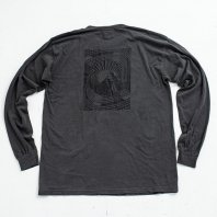 <font size=5>NUTTY</font><br>Journy to the moon LONGSLEEVE T-SHIRT<br>Charcoal<br>