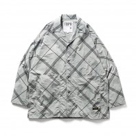 <font size=5>TBPR</font><br>BULKY CHECK SHIRT<br>Grey<br><img class='new_mark_img2' src='https://img.shop-pro.jp/img/new/icons1.gif' style='border:none;display:inline;margin:0px;padding:0px;width:auto;' />