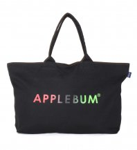 <font size=5>APPLEBUM</font><br>Gradation Logo Zip Totebag<br>Black<br><img class='new_mark_img2' src='https://img.shop-pro.jp/img/new/icons1.gif' style='border:none;display:inline;margin:0px;padding:0px;width:auto;' />