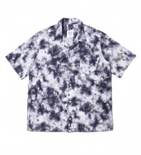 <font size=5>APPLEBUM</font><br>Marble Open Collar S/S Shirt<br>Navy<br><img class='new_mark_img2' src='https://img.shop-pro.jp/img/new/icons1.gif' style='border:none;display:inline;margin:0px;padding:0px;width:auto;' />