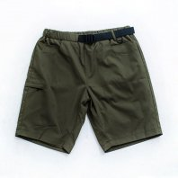 <font size=5>NUTTY CLOTHING</font><br>7 Pockets Nylon Daily shorts<br>Olive<br>