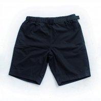 <font size=5>NUTTY CLOTHING</font><br>7 Pockets Nylon Daily shorts<br>Black<br>
