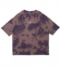 <font size=5>APPLEBUM</font><br>Tie-dye Big T-shirt<br>Brown<br>