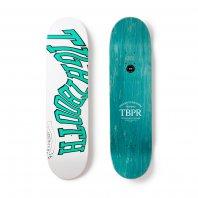 <font size=5>TBPR</font><br>ACID LOGO WHITE Skateboard<br>8.125<br>