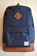 『Herschel Supply』<br>Heritage<br>NAVY×BROWN<img class='new_mark_img2' src='https://img.shop-pro.jp/img/new/icons47.gif' style='border:none;display:inline;margin:0px;padding:0px;width:auto;' />
