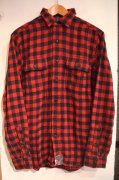 『RALPH LAUREN』<br>BLOCKCHECK FLANNEL SHIRTS<br>RED / BLACK<br>Sサイズ