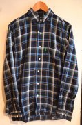 『Delicious』<br>Plaid Check Shirt<br>Blue<br>Sサイズ<img class='new_mark_img2' src='https://img.shop-pro.jp/img/new/icons47.gif' style='border:none;display:inline;margin:0px;padding:0px;width:auto;' />