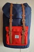 『Herschel Supply』<br>LITTLE AMERICA<br>NAVY / RED<img class='new_mark_img2' src='https://img.shop-pro.jp/img/new/icons47.gif' style='border:none;display:inline;margin:0px;padding:0px;width:auto;' />