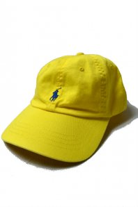 <font size=5>RALPH LAUREN</font><br>CLASSIC SPORTS CAP<br>YELLOW