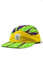 『SaturDIY』<br>6 PANEL CAP ( AFRICA )<br>YELLOW