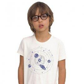 <img class='new_mark_img1' src='https://img.shop-pro.jp/img/new/icons1.gif' style='border:none;display:inline;margin:0px;padding:0px;width:auto;' />【キッズ】半袖Tシャツ「暗闇で光る!SOLAR SYSTEM」ホワイト/ブラック(親子おそろい服) 2T/10T