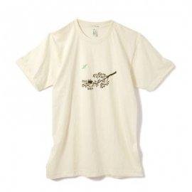 【パパ】半袖Tシャツ「TWIG」オーガニックコットン(親子おそろい服)XLサイズ