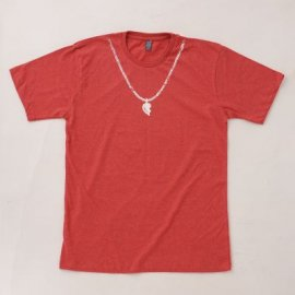 【パパ/ママ】半袖Tシャツ「Best Friends」 (親子リンクコーデ・OrganicPAPA別注)