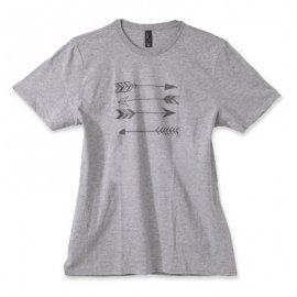 【パパ/ママ】半袖Tシャツ「Arrow Love」 (親子リンクコーデ・OrganicPAPA別注)