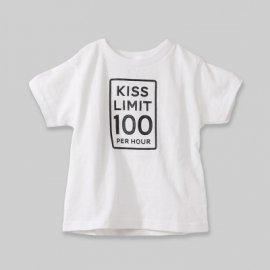 【キッズ】半袖Tシャツ「Kiss Limit」(親子リンクコーデ)