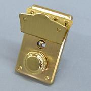 594 一つ丸一段錠金色
