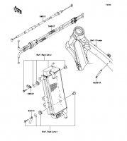 ケーブル KX250F 2012(KX250ZDF) - Kawasaki純正部品