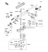 ハンドルバー KX250F 2012(KX250ZDF) - Kawasaki純正部品