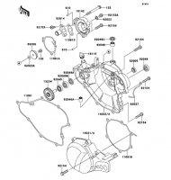 エンジンカバー KX65 2011(KX65ABF) - Kawasaki純正部品