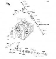 バルブ KLX110L 2010(KLX110DAF) - Kawasaki純正部品