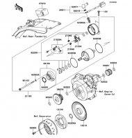 スタータモータ(CCS/CDF) KLX125 2013(KLX125CDF) - Kawasaki純正部品