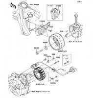 ゼネレータ KLX125 2013(KLX125CDF) - Kawasaki純正部品