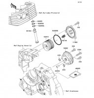 オイルポンプ KLX125 2013(KLX125CDF) - Kawasaki純正部品