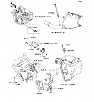 フユーエルインジェクション KLX250 2012(KLX250SCF) - Kawasaki純正部品