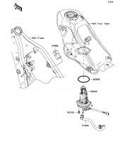 フューエルポンプ KLX250 2012(KLX250SCF) - Kawasaki純正部品