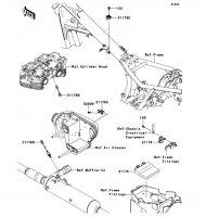フユーエルインジェクション W800 2012(EJ800ACF) - Kawasaki純正部品