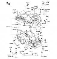 クランクケース W800 2012(EJ800ACF) - Kawasaki純正部品