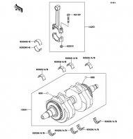 クランクシャフト W800 2012(EJ800ACF) - Kawasaki純正部品