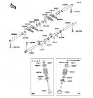 バルブ W800 2012(EJ800ACF) - Kawasaki純正部品