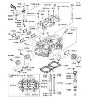 シリンダヘッド W800 2012(EJ800ACF) - Kawasaki純正部品